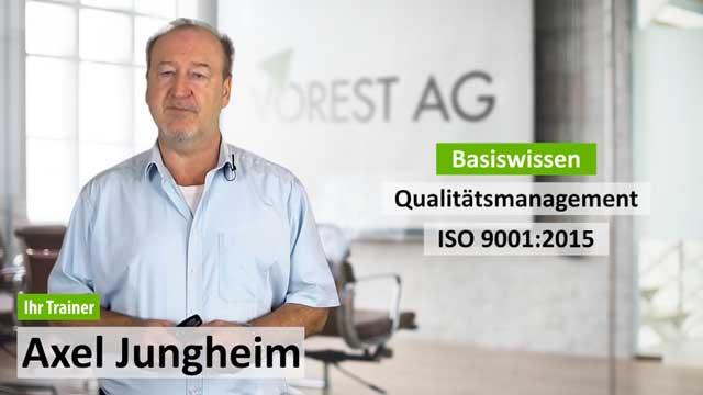 Präsenzschulung Basiswissen Qualitätsmanagement ISO 9001