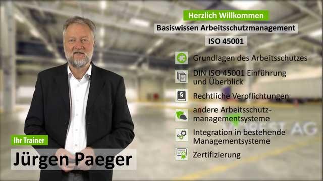 Präsenzschulung Basiswissen ISO 45001