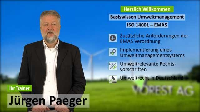 Präsenzschulung Basiswissen Umweltmanagement ISO 14001