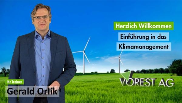 Präsenzschulung Einführung Klimamanagement