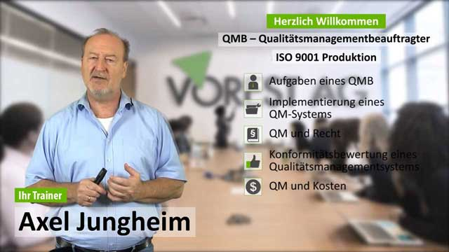 Präsenzschulung QMB ISO 9001