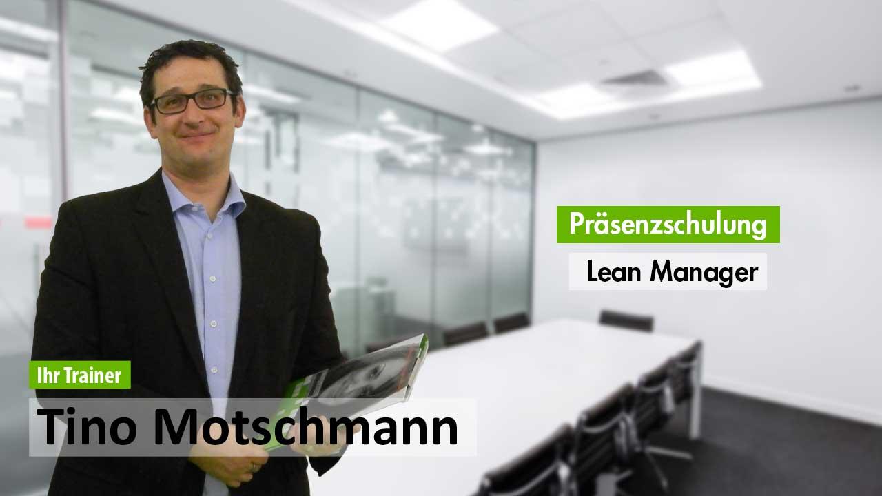 Präsenzschulung Lean Manager