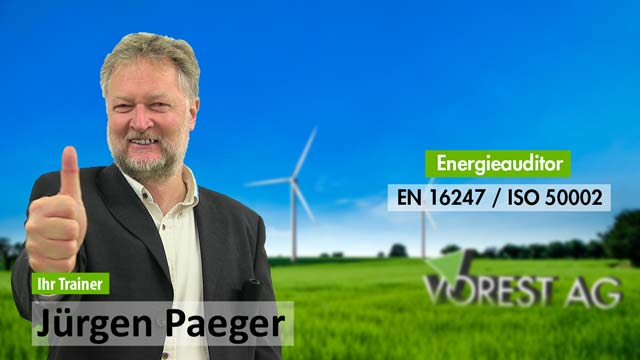 Präsenzschulung Energieauditor EN 16247 und ISO 50002