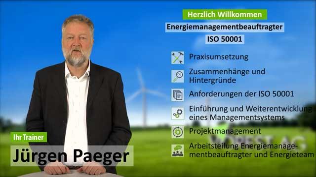 Präsenzschulung Energiemanagementbeauftragter ISO 50001