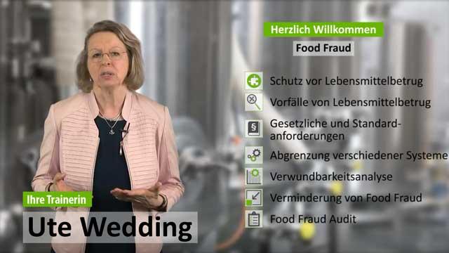 Präsenzschulung Food Fraud