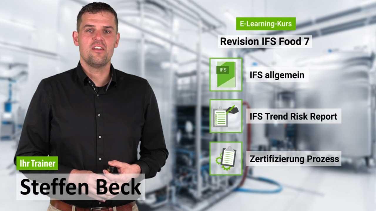 Präsenzschulung Revision IFS Food 7